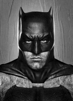Batman v Superman - Novas artes oficiais do filme mostram detalhes da armadura do Batman! - Legião dos Heróis