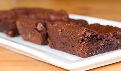 Vegan single serving microwave brownies.