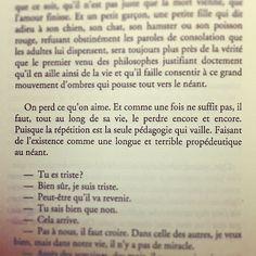 Pensée joyeuse de la nuit... Philippe Forest, Le Chat de Schrodinger #teaminsomniaque #insomnie #livre #book #citation #quote #quoteoftheday #qotd #instabook #lecture #litterature