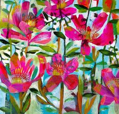 I came across Este MacLeod's vibrant and eye-catching abstract work on her Facebook page. The painter and designers colourful works are fu...
