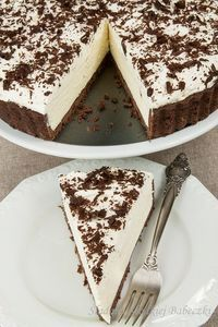 Tart with mascarpone and whipped cream footsteps of Sweet Muffins Polish Desserts, Polish Recipes, Chocolate, Cookie Recipes, Dessert Recipes, Delicious Desserts, Yummy Food, Dessert Aux Fruits, Vegan Sweets
