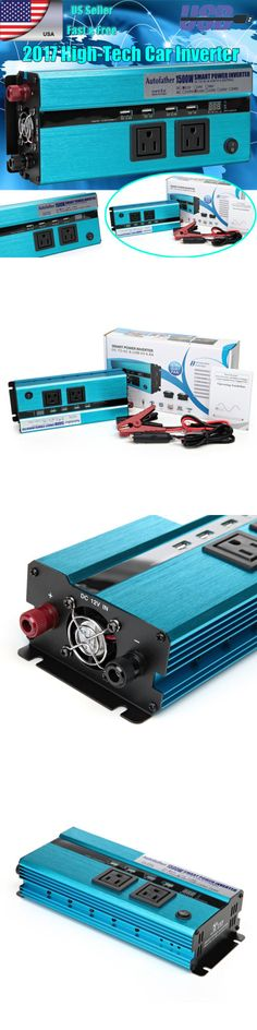 Power Inverters: 1500 3000Watt Dc 12V Ac 110V Car Converter Power Inverter Electronic Usb Charger -> BUY IT NOW ONLY: $49.99 on eBay!