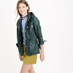 Hooded downtown field jacket with zip-out vest