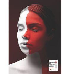 Campaña de impacto gráfico y corporativo, con fines solidarios #CruzRoja #Ecuador #Publicidad