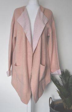 b3013df606d3e Primark Womens Waterfall Cardi Jacket Coat Blanket UK 14   16 Large Pockets   fashion