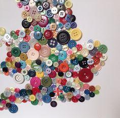 Stunning Map of British Isles  Britain UK Button Wall Art