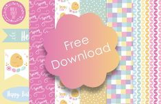 Add a touch of Spring to your crafts with these adorable free Trimcraft Spring papers! Printable Scrapbook Paper, Digital Scrapbooking Freebies, Digital Scrapbook Paper, Printable Paper, Digital Papers, Digital Paper Free, Free Paper, Play Therapy, Therapy Activities