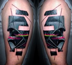 Darth Vader Tattoo by Vlad Tokmenin - TATTOOBLEND