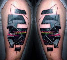 Darth Vader Tattoo by Vlad Tokmenin - TATTOOBLEND