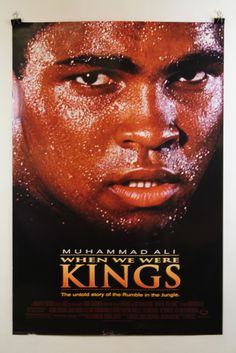 Muhammad Ali When we were Kings cult movie poster print