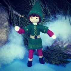 Kindness Elves - Christmas Elf- Bendy Doll - (large)