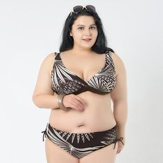 ab80a1a3daa9c 2016 women bikini Large size triangle swimsuit Big bra Low waist bikinis  push up bathing suit beach bikinis set swimming wear