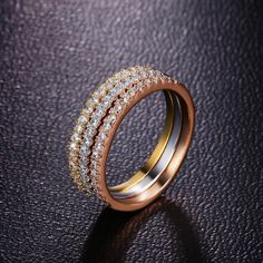 Check out our new arrivals! Stackable Classic... Shop now at http://www.projectunbox.com/products/classic-wedding-ring-set-of-3?utm_campaign=social_autopilot&utm_source=pin&utm_medium=pin !!