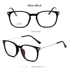 18240adf4666 TR90 Ultralight Female Grade Computer Glasses Frame Round Eyeglasses Frames  for Women Men Retro Prescription Optical Eyewear