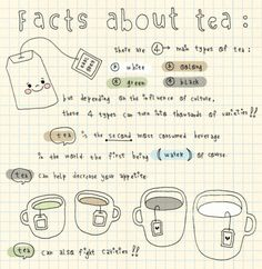 I love tea! This print is so adorable and I want it for my kitchen or to embroider it on a tea towel :)