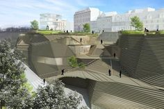 architectural statement on city infrastructure - Google Search