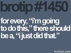 bro tip #1450: inspiration