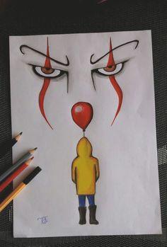 "Hobo Heart Creepypasta Poster Print""},""grid_title"":""Hobo Heart Creepypasta Poster Print ""Es"" – der Clown 🎪 ""Es"" – der Clown 🎪 – Sponsored Sponsored \""It\"" – the clown 🎪 \""It\"" – the clown 🎪 – the Scary Drawings, Cool Art Drawings, Pencil Art Drawings, Drawing Sketches, Drawing Drawing, Drawing Ideas, Drawing Tips, Ghost Drawing, Cool Simple Drawings"