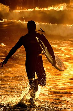 . Surfing is very much like making love. It always feels good, no matter how many times you've done it
