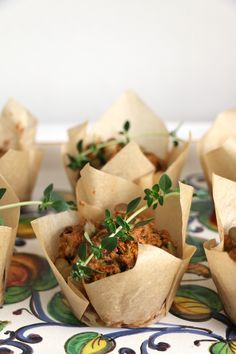 Beetroot, Carrot and Thyme Savoury Muffins - Nirvana Cakery
