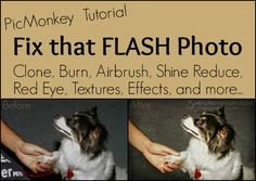 How to Fix Bad Flash Photos – PicMonkey Video Tutorial