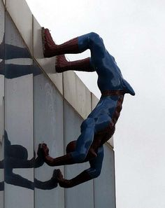 Spider-Man, by Eunsuk Yoo at the Lotte Shopping Center in Busan, South Korea
