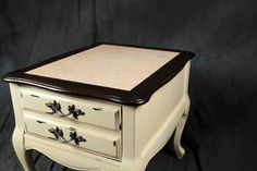 French Provincial Upcycled Endtables
