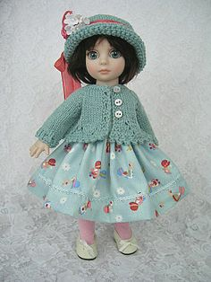 Patsy dress, sweater and hat by Ulla on ebay ends 1/23/14. Sold for $63.05