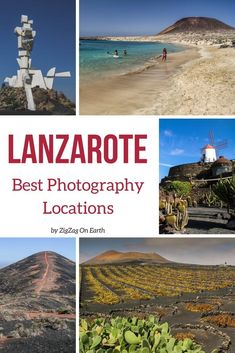 Canary islands Travel - best places to photograph Lanzarote: landscape, volcanoes, beaches, vineyards, architecture... | #lanzarote #Canaryislands | Things to do in Lanzarote | Lanzarote photography