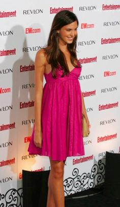 Odette Yustman in TYSA at Entertainment Weekly's 5th Annual Emmys Celebration.