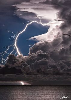Stormy Bolt of Lightning   |  #perspicacityparty #naturalwonders