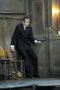 Greg Hicks as Claudius in Hamlet. Photo by Keith Pattison.