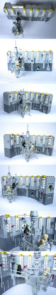 MAY LEGO Star Wars Calendar 2014