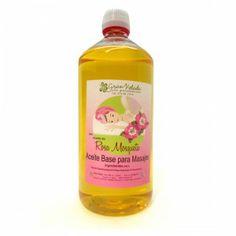 Óleo massagem base Rosa Mosqueta. Experimente nossos óleos para massagens.