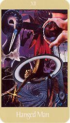 Hanged Man from the Voyager Tarot at TarotAdvice