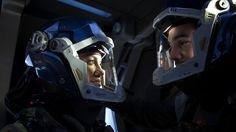 """Naomi Nagata (Dominique Tipper) in the 2017 """"Expanse"""" episode """"Doors and Corners"""" Sci Fi News, Sci Fi Series, Machine Gun Kelly, Cosplay Makeup, Space Travel, The Expanse, Good News, Master Chief, Science Fiction"""