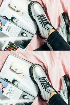 4ad2a51f8a82 Dr. Martens Pascal Metallic Boots