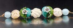 Color Me Coastal II - Handmade Artisan Glass Beads