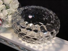 Vintage Fostoria Glass American Crystal Footed by havetohaveit, $37.99