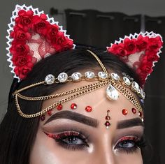 Arab Makeup/Credit: @keilakattt