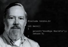 Dennis Ritchie, man who actually made your computer.