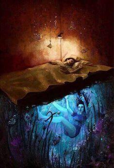 ॐ Psychedelic Mind ॐ Dark Fantasy Art, Dark Art, Psychedelic Art, Inspiration Art, Art Inspo, Arte Obscura, Dreams And Nightmares, Arte Horror, Dream Art