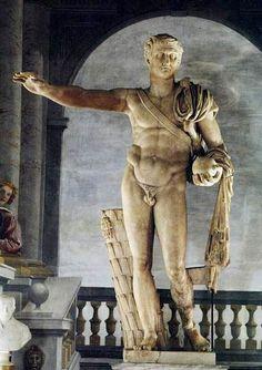 The contended statue of Gnaeus Pompeius Magnus ... (ita) http://www.romeandart.eu/it/arte-statua-pompeo.html