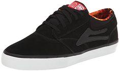Lakai Men's Griffin Skate Shoe: Textile Imported Synthetic sole
