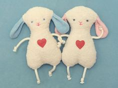 Grasping toy sheep