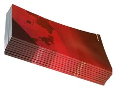 Our booklet machine makes square fold #booklets & #brochures that have a flush square spine for high quality presentation at an affordable price.
