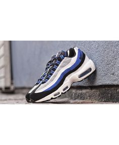 Nike Air Max 95 Black Game Royal Pure Platinum Trainers Cheap Air Max 95 d145a5673