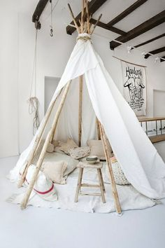 Who needs a playhouse when you can have a teepee? Ordering mine like....now!