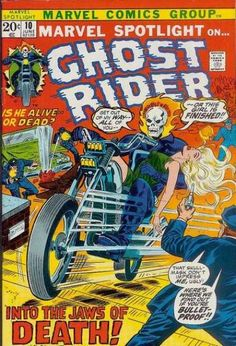 Marvel Spotlight 10 - Ghost Rider