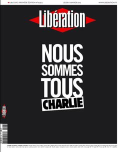 In the aftermath of the terror attack at the office of satirical weekly Charlie Hebdo in Paris, newspapers around the world have used Thursday's front pages as a show of defianc. The World Newspaper, Newspaper Front Pages, Newspaper Cover, World Pay, Charlie Hebdo, Sharing Economy, We Are All Human, French History, Humor Grafico